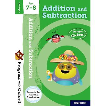 Progress with Oxford Addition and Subtraction Age 78 by Clare