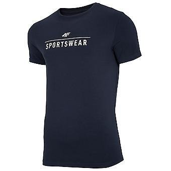 4F NOSH4 TSM005 NOSH4TSM005GRANAT universal durante todo o ano homens t-shirt