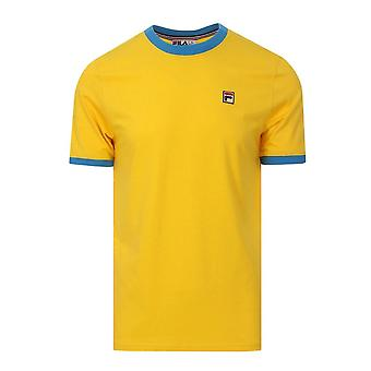 Fila Vintage Marconi Lm1836at Essentiel Ringer Half Sleeve T-shirt
