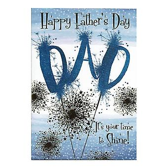 Nigel Quiney Publications Happy Fathers Day Dad Its Your Time To Shine! Card Df245
