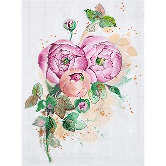 Panna Cross Stitch Kit : Ranunculus