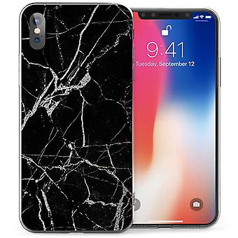 Mobile shell iPhone X Xs - Or de marbre
