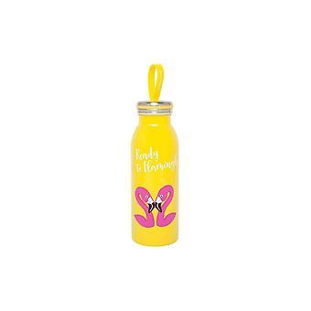 Sunnylife flamingo flask