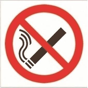 Casa Nameplate Co nenhum sinal do símbolo de fumo (bloco de 2)