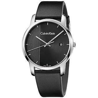 Calvin Klein K2G2G1C1 City Quartz Black Dial Men's Watch