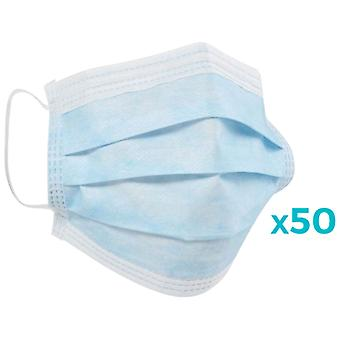 Carethy Clinical Mask 3 Layer Antivirus Protection 50 units