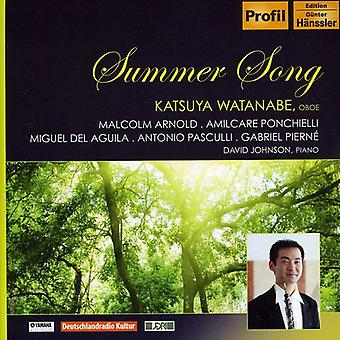 Ponchielli/Pasculli Und Del a - Summer Song [CD] USA import