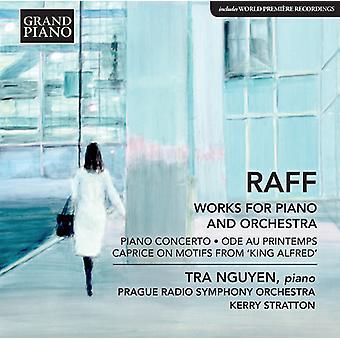 Raff / Nguyen / Stratton - Ode Au Printemps / Piano Concerto [CD] USA import