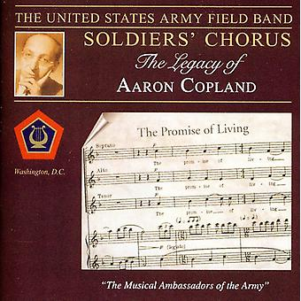 U.S. Army Field Band Soldiers' Chorus - The Legacy of Aaron Copland [CD] USA import