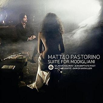 Matteo Pastorino - Suite for Modigliani [CD] USA import