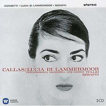 Donizetti/Callas/Tagliavini/Cappuccilli - Lucia Di Lammermoor (1959) [CD] USA import