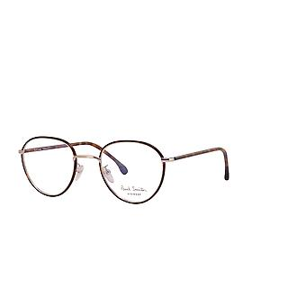Paul Smith ALBION PSOP003V1 02 Dark Turtle On Silver Glasses
