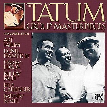 Tatum/Hampton/Edison/Kessel - Tatum Group Masterpieces No. 5 [CD] USA import