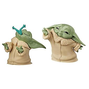 The Mandalorian, 2x Baby Yoda Figures - No. 1