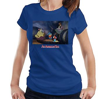 An American Tail Fievel And Family Women's T-Shirt