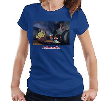 Americký ocasní plouvel a rodinné ženy ' s tričko