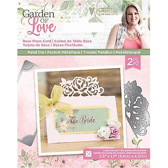 Sara Signature Garden of Love Rose Place Card Dies (S-GOL-MD-RPC)