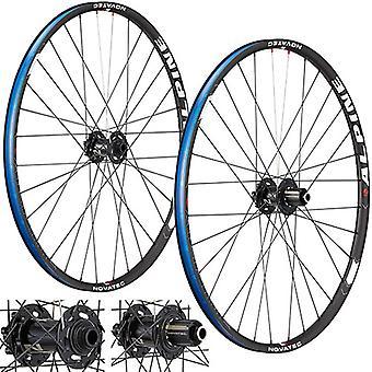 "Novatec Alpine MTB wheelset 27.5""/650B (thru axle) // 8/9/10-speed"
