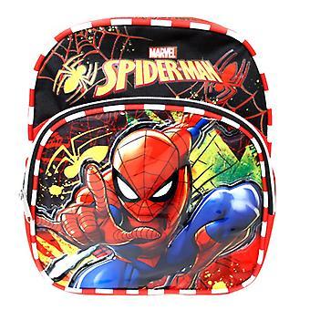Mini Backpack - Spiderman - Metal Web Black 10