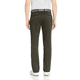 Essentials Men's Slim-Fit Stretch Golf Pant, Olive, 34W x 29L