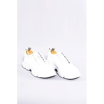 Leather white ugly shoes | wessi