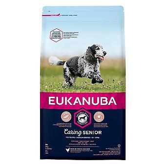 Eukanuba Caring Senior Medium Breed Chicken - 2kg