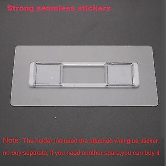 Punch Free Strong Seamless Mounting Wall Stickers No Glue Hook