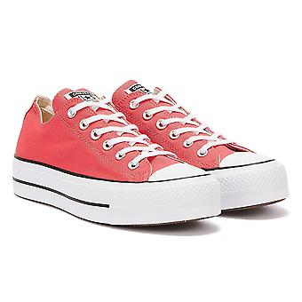 Converse All Star Lift Ox Naisten Carmine Pink Trainers