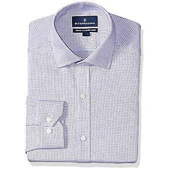 BUTTONED DOWN Miehet&s Tailored Fit Spread-Kaulus Pattern Ei-iron mekko paita, ...