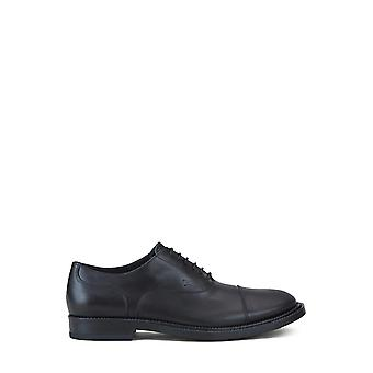 Tod's Xxm62c00n50olwb999 Men's Black Leather Lace-up Shoes