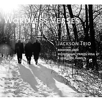 Holbrooke, Josef / Jackson Trio - Wordless Verses [CD] USA import