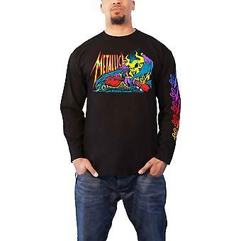 Metallica T Shirt S&m2 Anniversary Band Logo novo Official Mens Black Long Sleeve