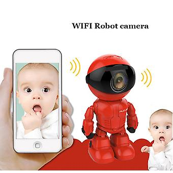 Wireless Red-robot Wifi-camera Ip/p2p Cctv Baby Cam  Monitor Surveillance Hd H.264130mp Lens Ir Night Vision For Android/ios
