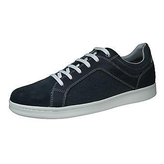 Geox U Warrens A Herren Trainer / Sneakers - Marine