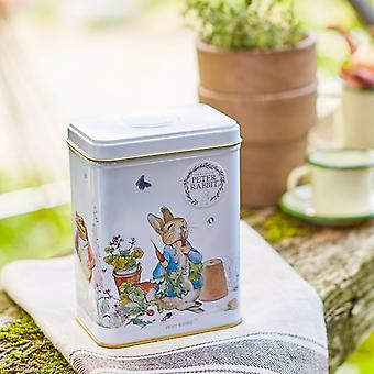 Beatrix potter tea tin with 40 english breakfast teabags