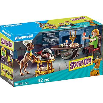 Playmobil Scooby-Doo! Dinner with Scooby and Shaggy