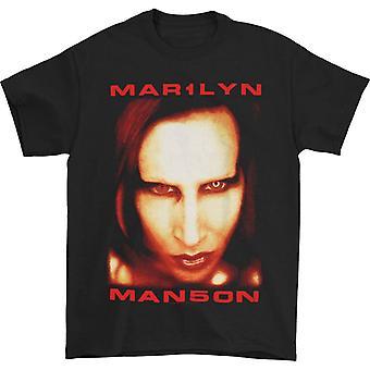Marilyn Manson Jumbo Face Satan T-shirt