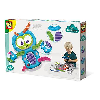 SES Creative Children's Tiny Talents Bob Sensory Buddy Toy Set (13101)