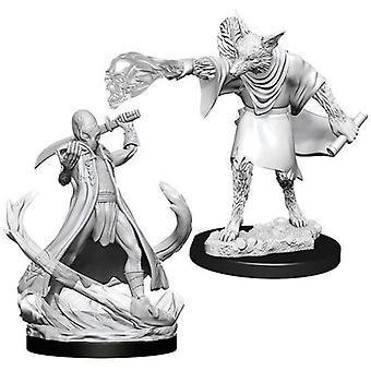 D&D Nolzur's Marvelous Unpainted Miniatures Arcanaloth & Ultroloth (Pack Of 6)