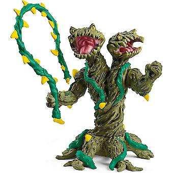 Schleich plant monster with weapon collectable figure