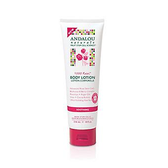 Andalou Naturals 1000 Roses Soothing Body Lotion, 32 Oz