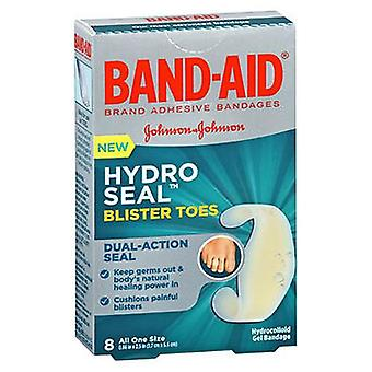 Band-Aid Hydro Seal Blister Toes Hydrocolloid Gel Bandages, 8 Each