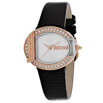 Just Cavalli Women's C Silver Dial Watch - JC1L110L0055
