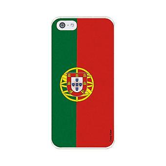Runko IPhone 5c joustava kuvio Portugalin lippu