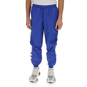 Adidas Ge0817 Men's Blue Nylon Joggers