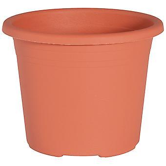 Cylindro pot 25 cm / 5.5 Litre terracotta 641 025 06