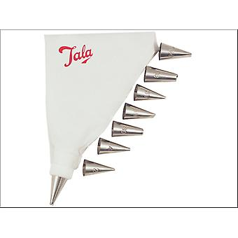 Tala Icing Bag Set with 8 Nozzles 10A09924
