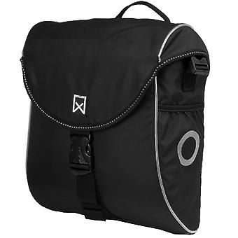 Willex Bicycle Bag 300 S 12 L Black and Silver