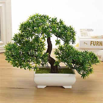 Artificial Plants Bonsai Small Tree Pot Plants Fake Flowers