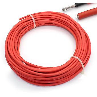 Solar Cable Red And Black And Pv Cable Wire-copper Conductor/xlpe Jacket